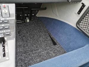 sloped floor
